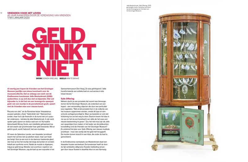 Magazine-Groninger-Museum-2019-2020-1-Dorien-Vrieling-Geld-Stinkt-Niet